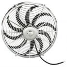 "Chrome 16"" Electric Fan"