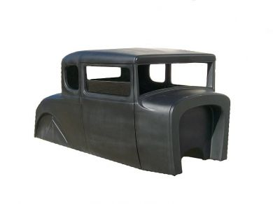 1930 31 Model A Coupe Fiberglass Body Spirit Cars