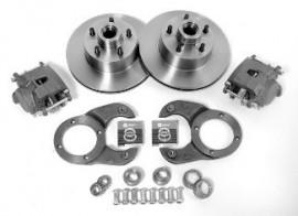 Ford Basic Disc Brake Kit complete (5x4 1/2 bolt pattern)