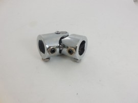 "5/8""- 36 Spline x 1""DD Single Chrome Steering Shaft U Joint"