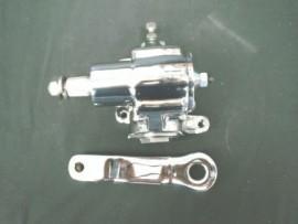 Chrome Vega Steering Box with Pitman Arm