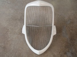 1934 Style Fiberglass Grille Shell with Stainless Steel Insert