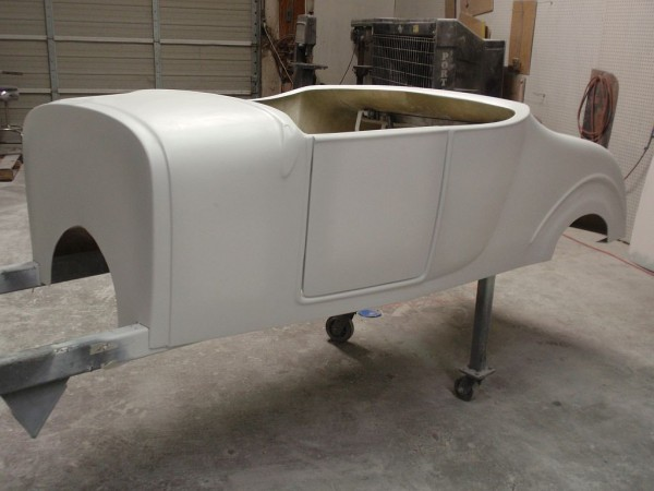 1927 Ford Model T Roadster Fiberglass Body Spirit Cars