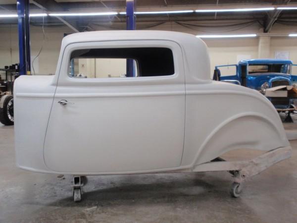 1932 Ford 3 Window Fiberglass Coupe Body Spirit Cars