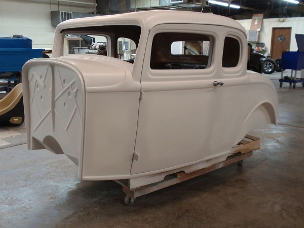 1932 Ford 5 Window Fiberglass Coupe Body Spirit Cars
