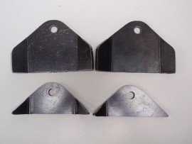Complete set of radius rod brackets