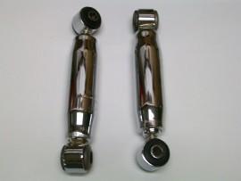Chrome Hot Rod Front Shocks