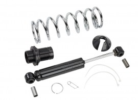Street Rod Black Coilover Shocks