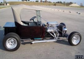 1923 T Fiberglass Hardtop