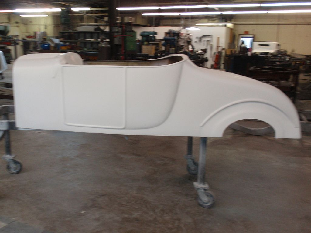 1927 T Roadster Fiberglass Body Spirit Cars