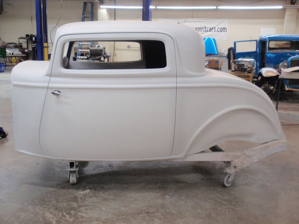 1932 ford 3 window fiberglass coupe body spirit cars for 1932 ford 3 window coupe steel body