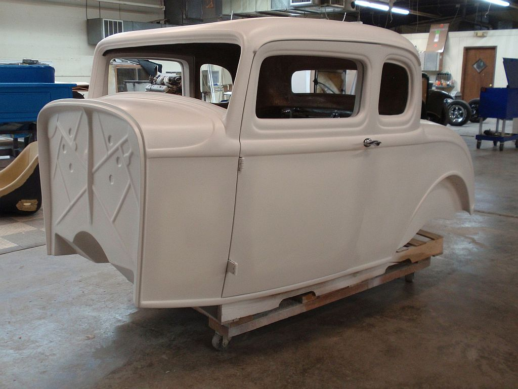1932 Ford 5 Window Fiberglass Coupe Body - Spirit Cars